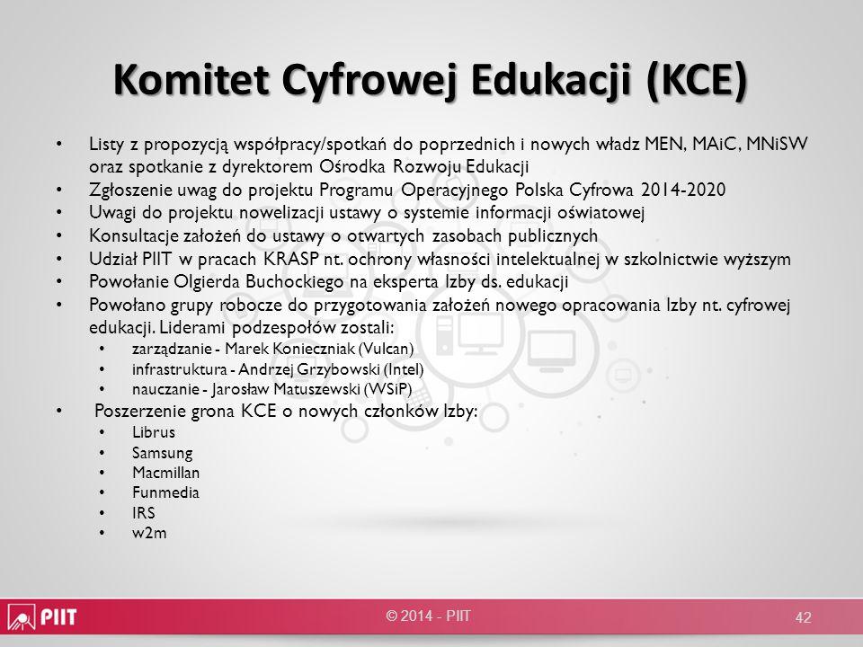 Komitet Cyfrowej Edukacji (KCE)