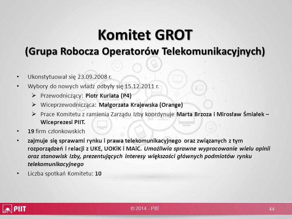 Komitet GROT (Grupa Robocza Operatorów Telekomunikacyjnych)