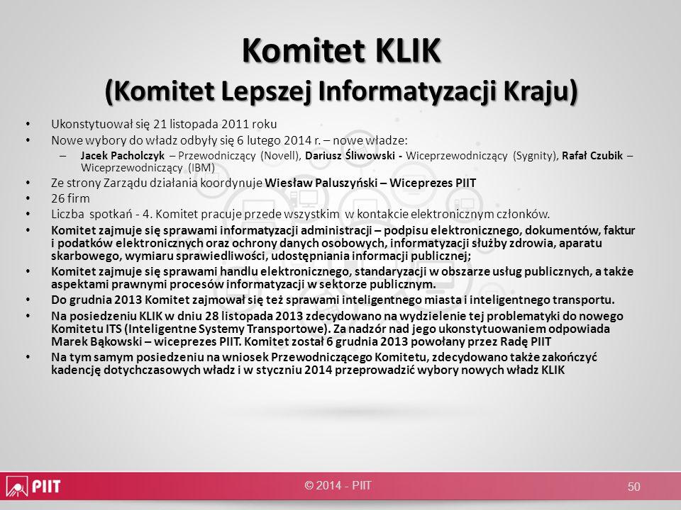 Komitet KLIK (Komitet Lepszej Informatyzacji Kraju)