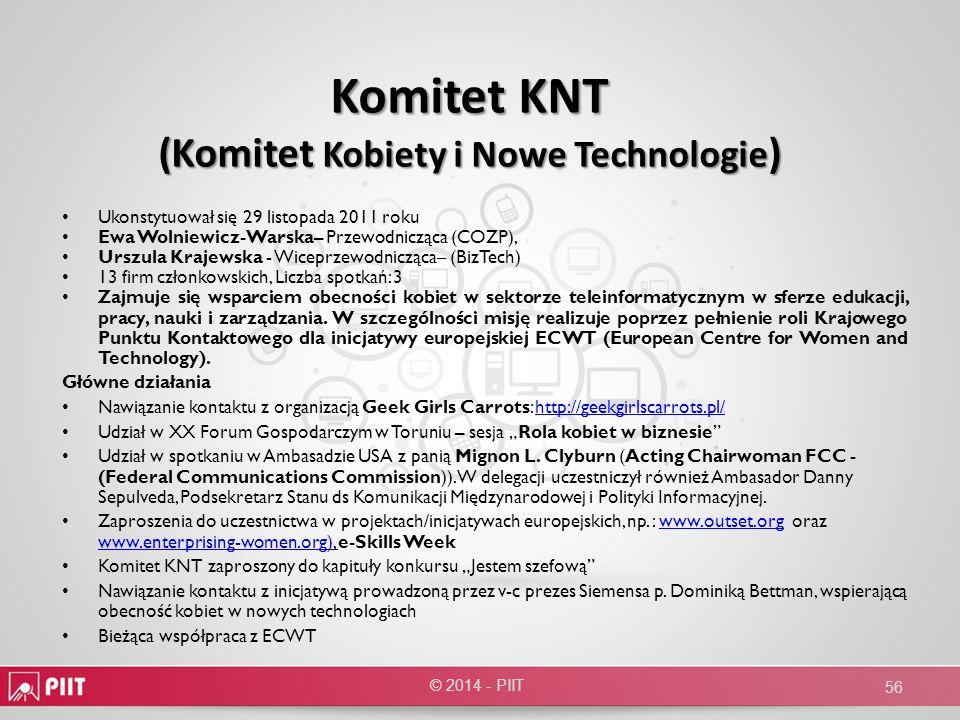 Komitet KNT (Komitet Kobiety i Nowe Technologie)