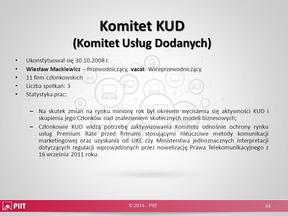 Komitet KUD (Komitet Usług Dodanych)