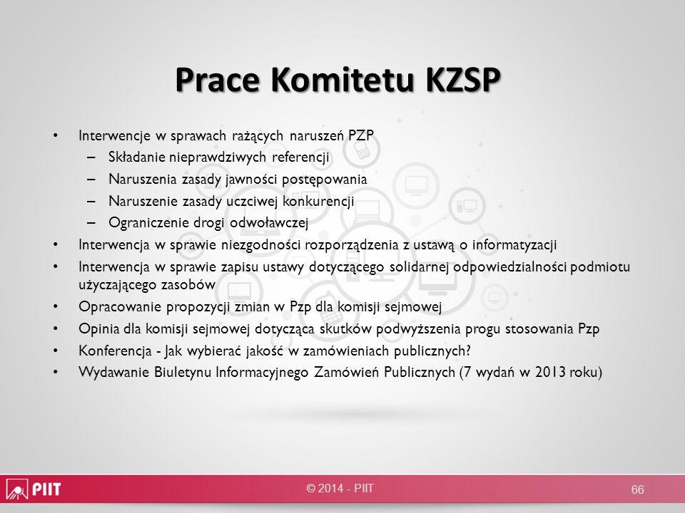 Prace Komitetu KZSP Interwencje w sprawach rażących naruszeń PZP