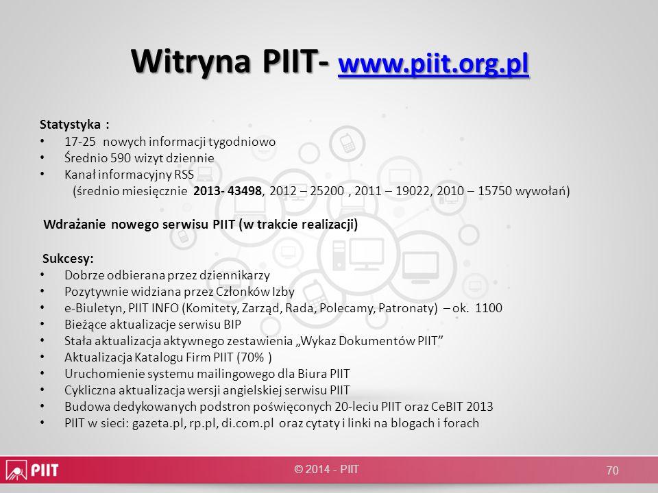Witryna PIIT- www.piit.org.pl