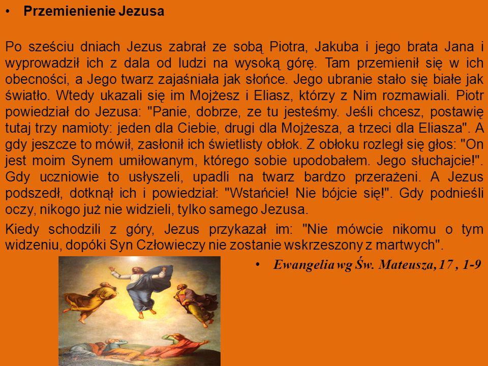 Przemienienie Jezusa