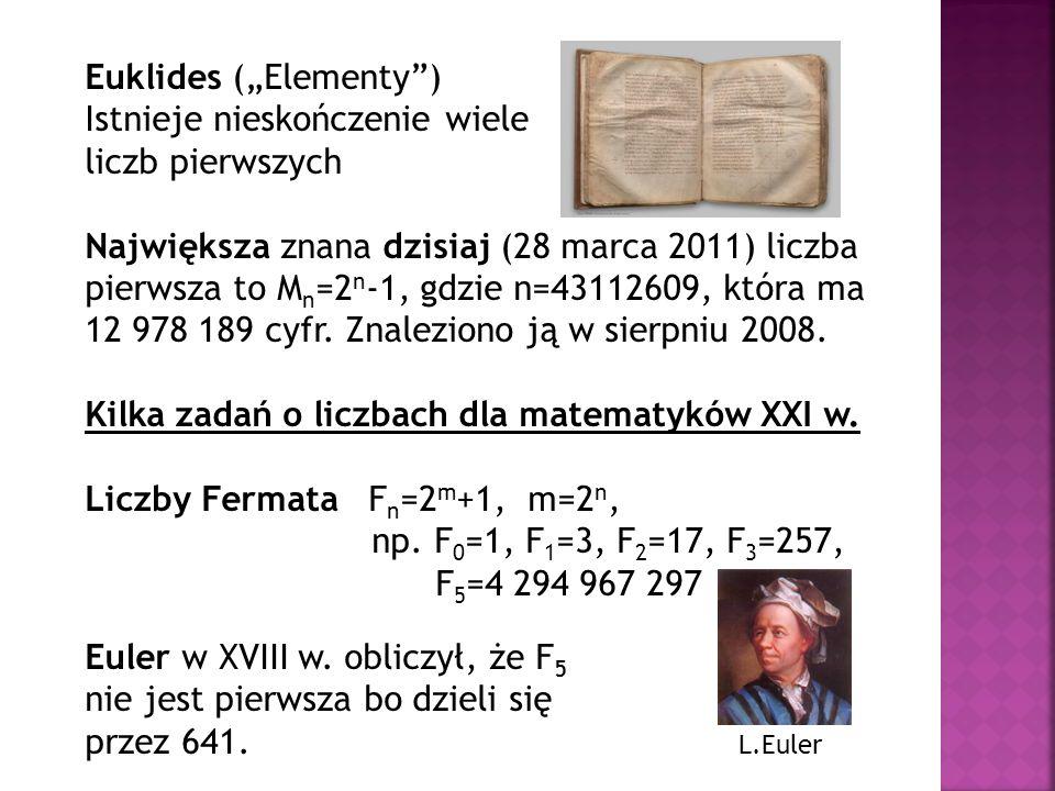 """Euklides (""""Elementy )"""