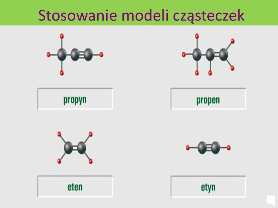 Stosowanie modeli cząsteczek
