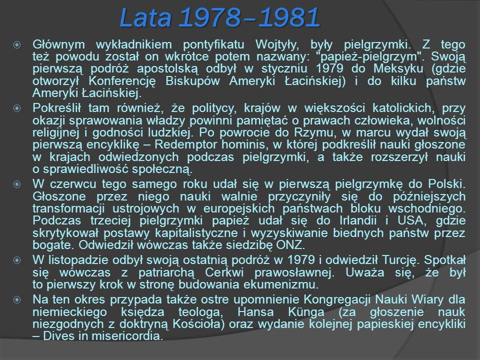 Lata 1978–1981