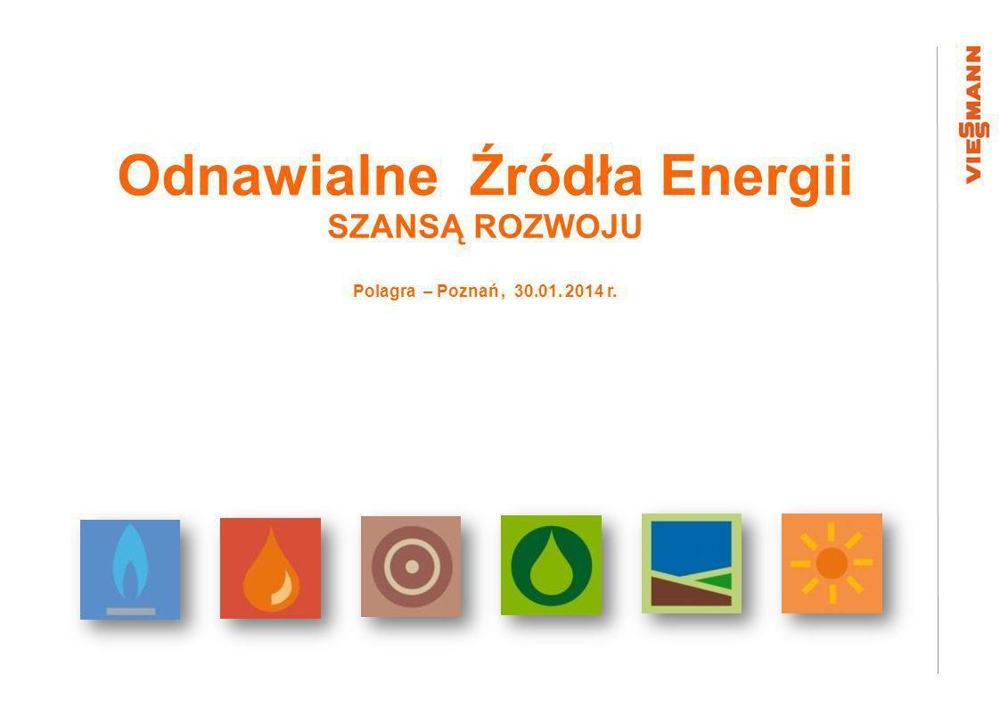 Odnawialne Źródła Energii SZANSĄ ROZWOJU