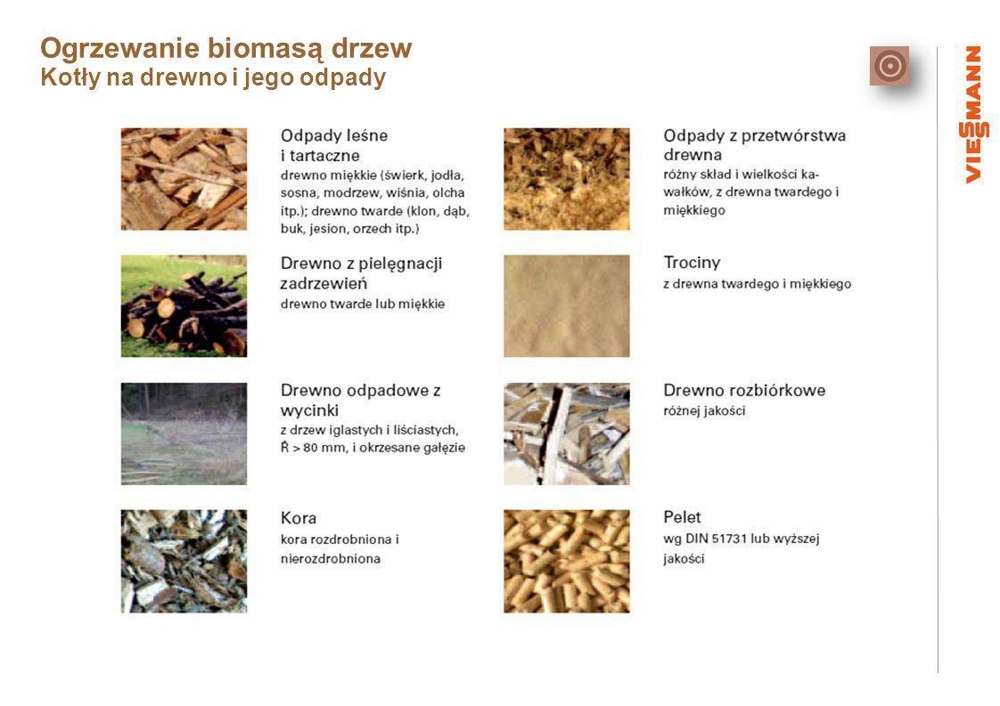 Ogrzewanie biomasą drzew Kotły na drewno i jego odpady