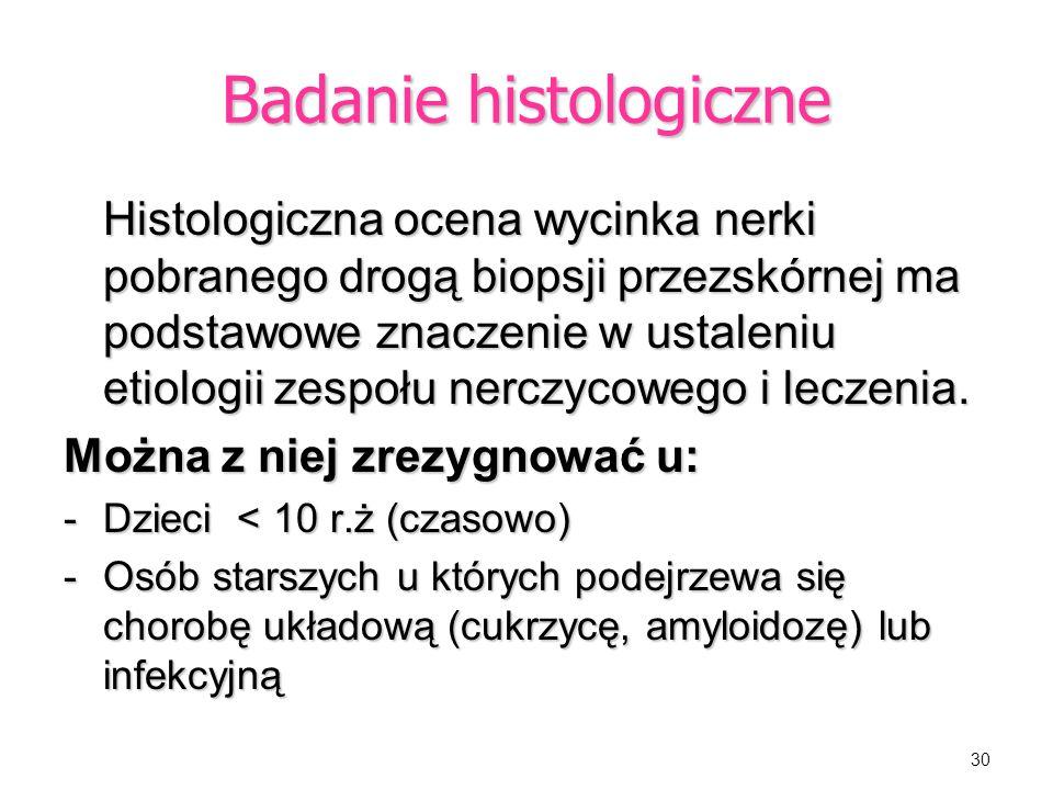 Badanie histologiczne