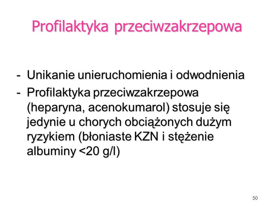 Profilaktyka przeciwzakrzepowa