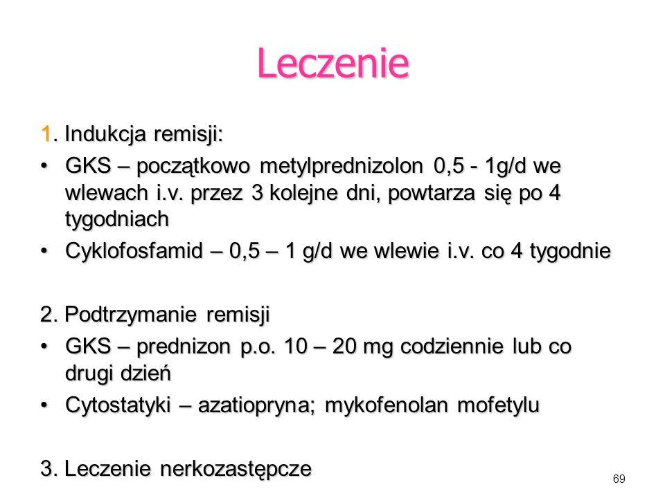 Leczenie 1. Indukcja remisji: