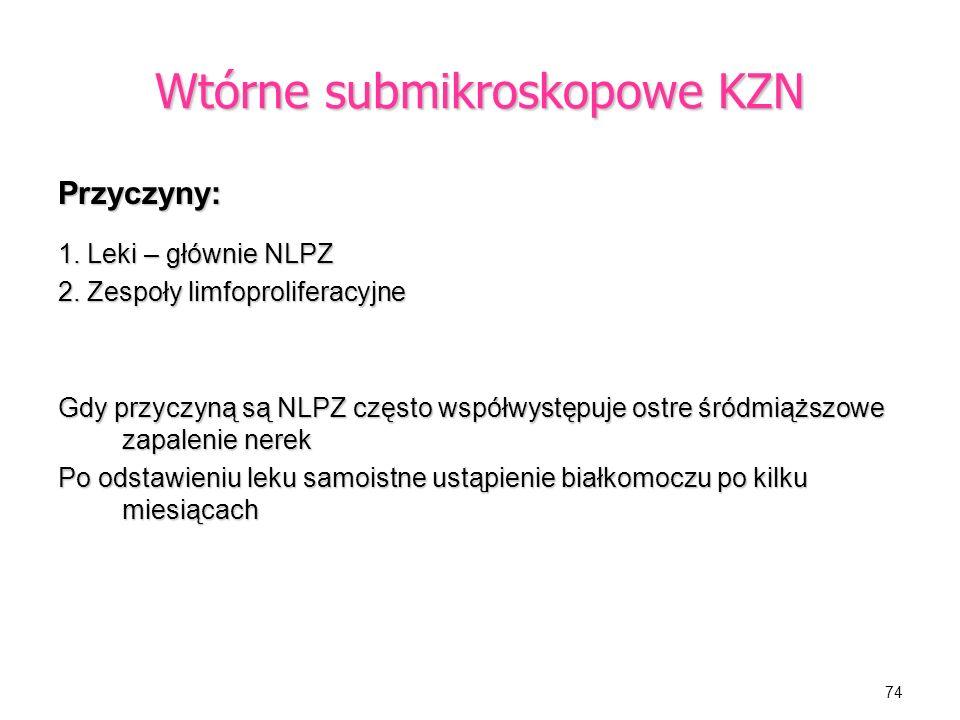 Wtórne submikroskopowe KZN