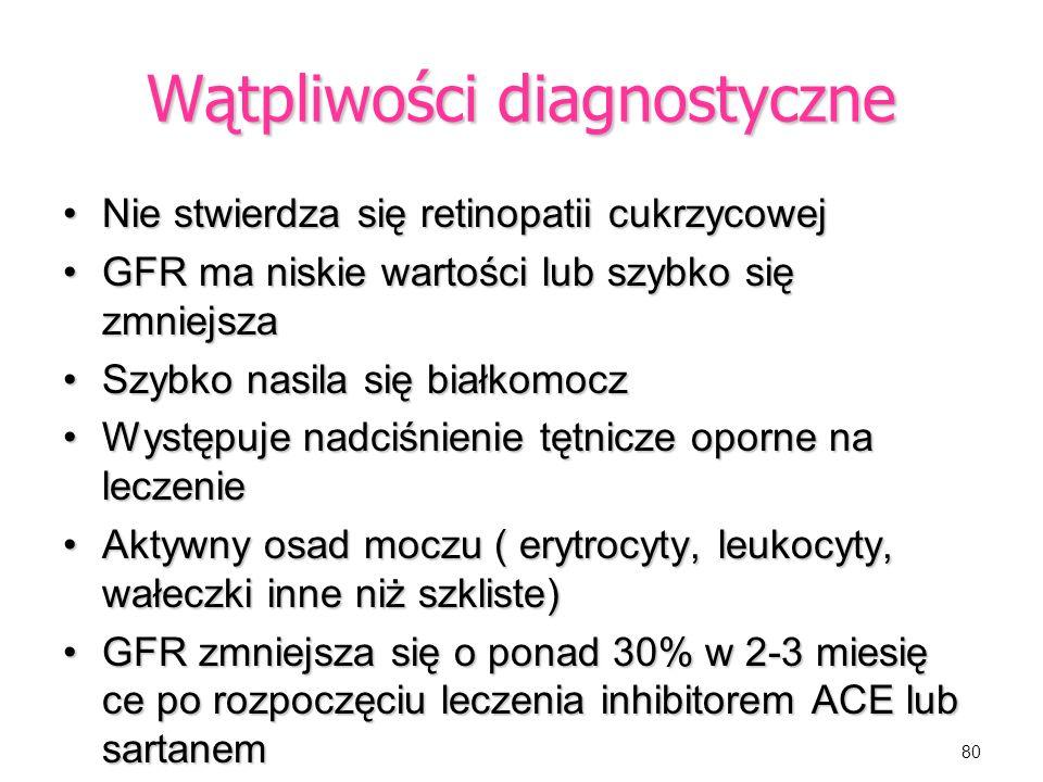 Wątpliwości diagnostyczne