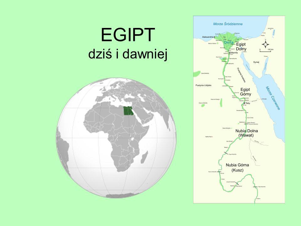 EGIPT dziś i dawniej