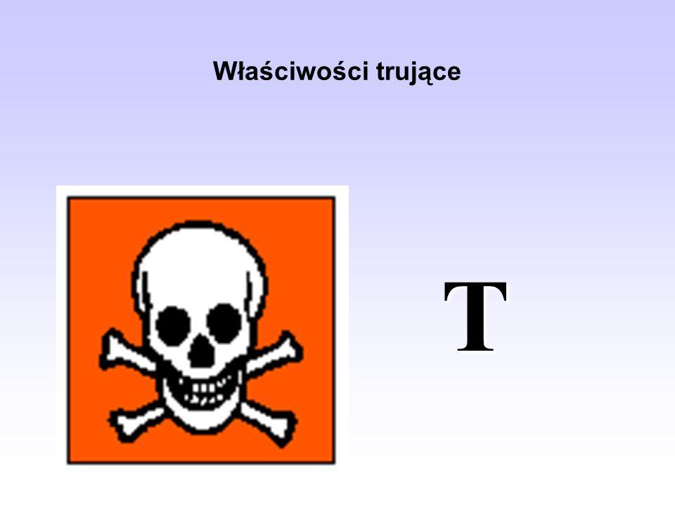 Właściwości trujące T