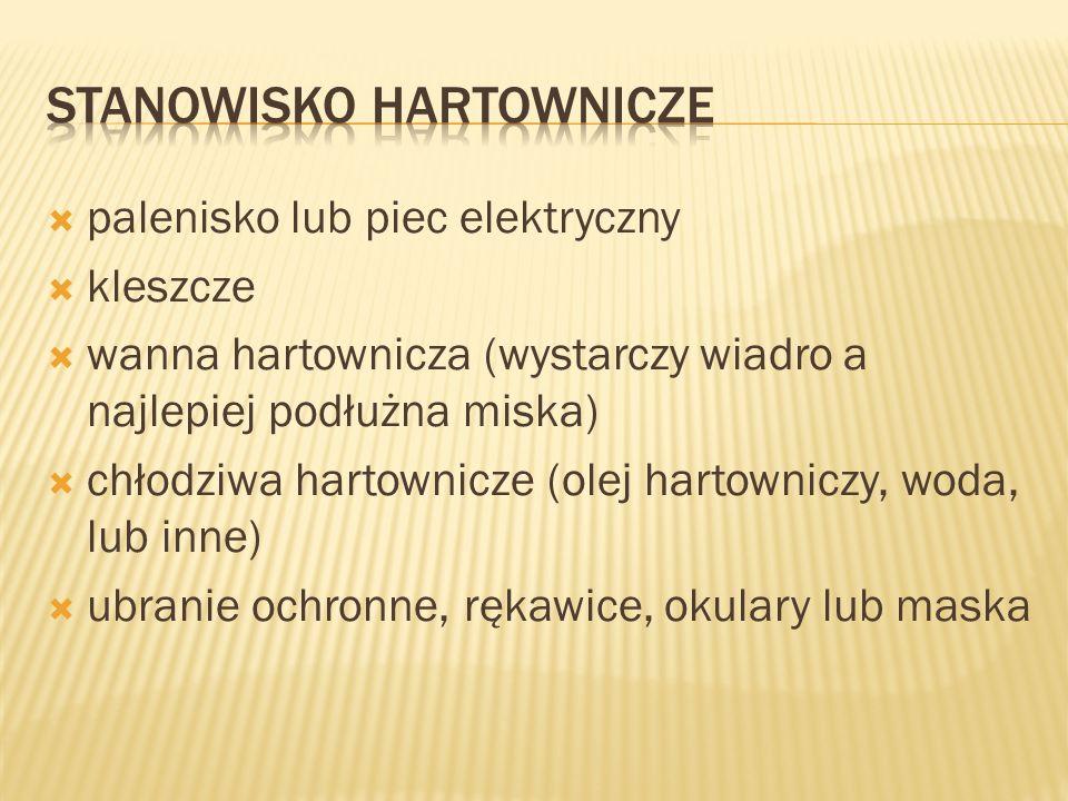 STANOWISKO HARTOWNICZE