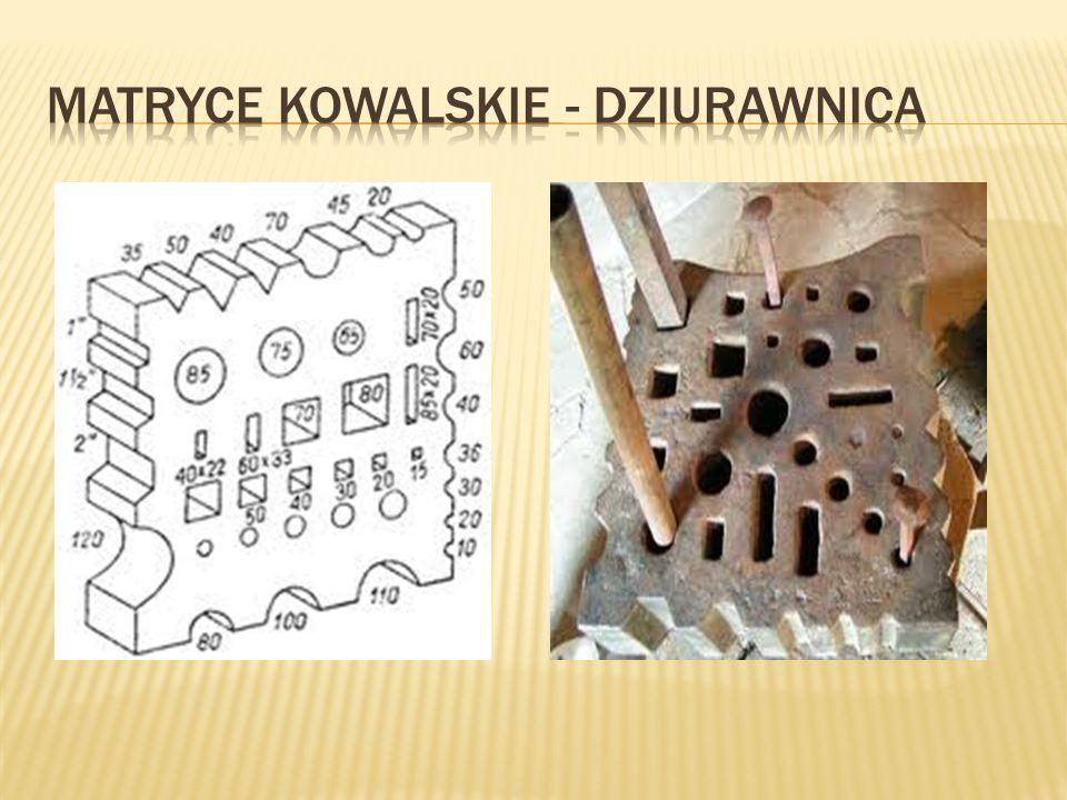 MATRYCE KOWALSKIE - DZIURAWNICA