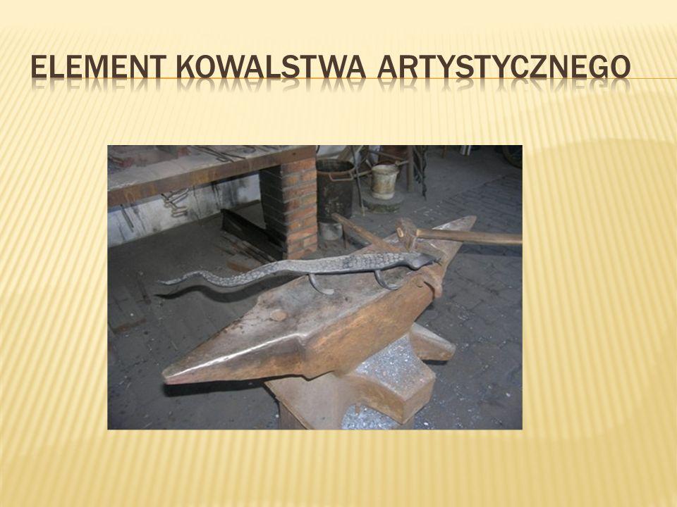 ELEMENT KOWALSTWA ARTYSTYCZNEGO