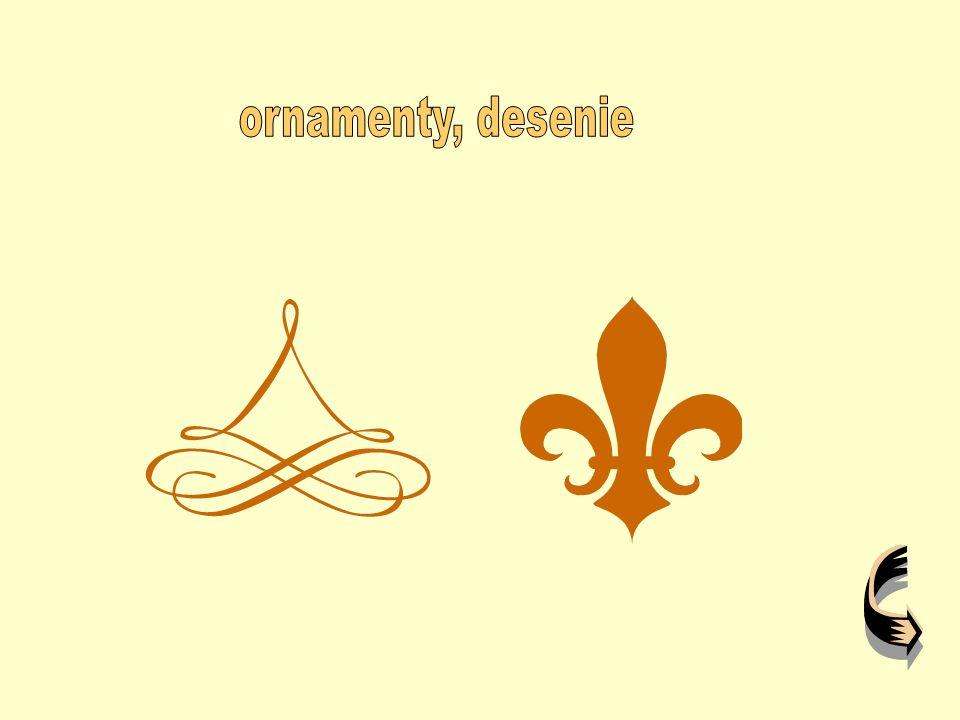 ornamenty, desenie