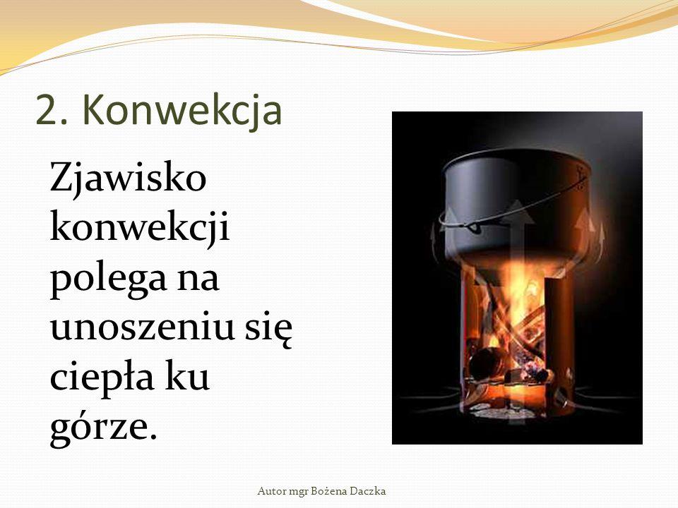 Autor mgr Bożena Daczka