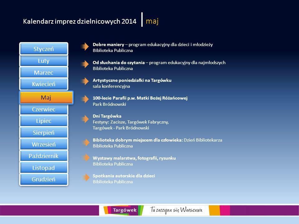 Kalendarz imprez dzielnicowych 2014 |maj