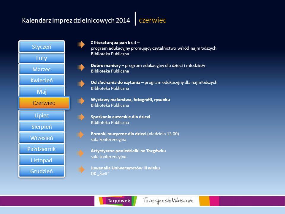 Kalendarz imprez dzielnicowych 2014 |czerwiec
