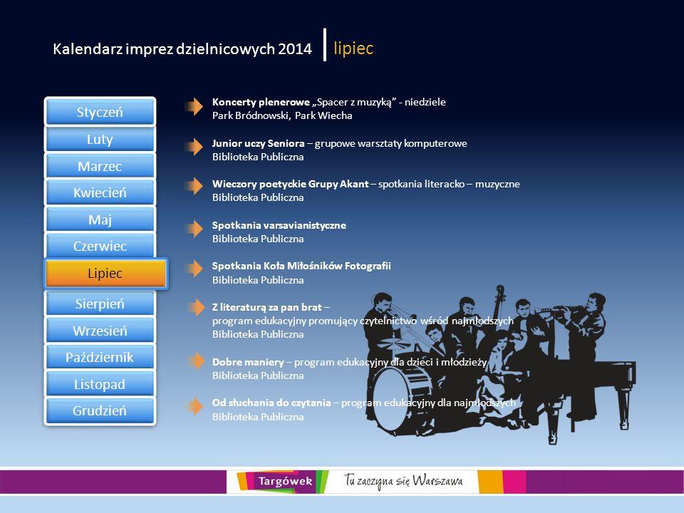 Kalendarz imprez dzielnicowych 2014 |lipiec