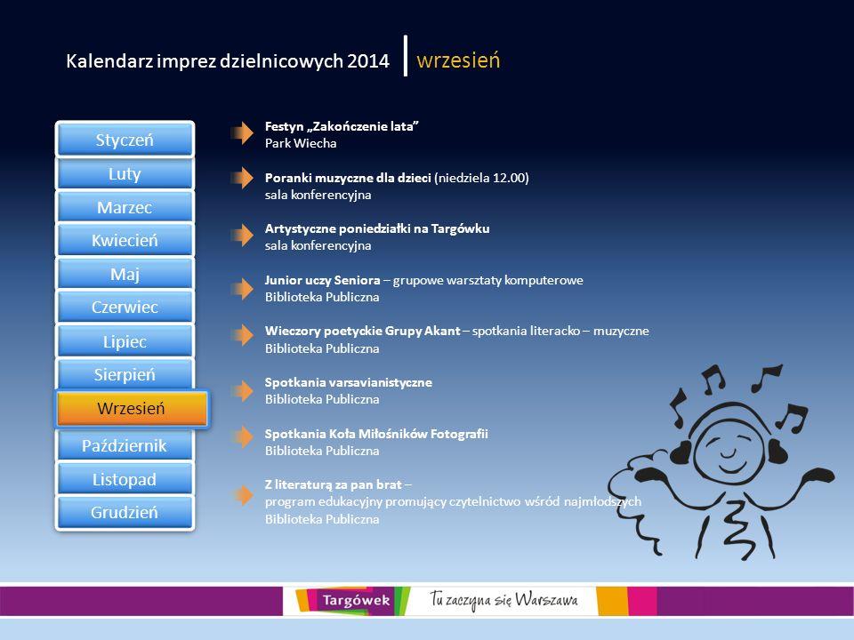 Kalendarz imprez dzielnicowych 2014 |wrzesień
