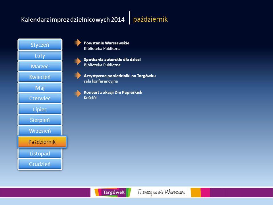 Kalendarz imprez dzielnicowych 2014 |październik