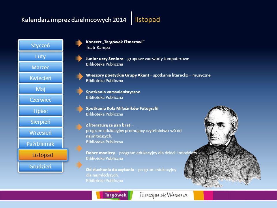 Kalendarz imprez dzielnicowych 2014 |listopad