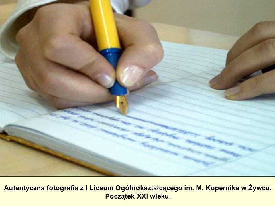 Autentyczna fotografia z I Liceum Ogólnokształcącego im. M