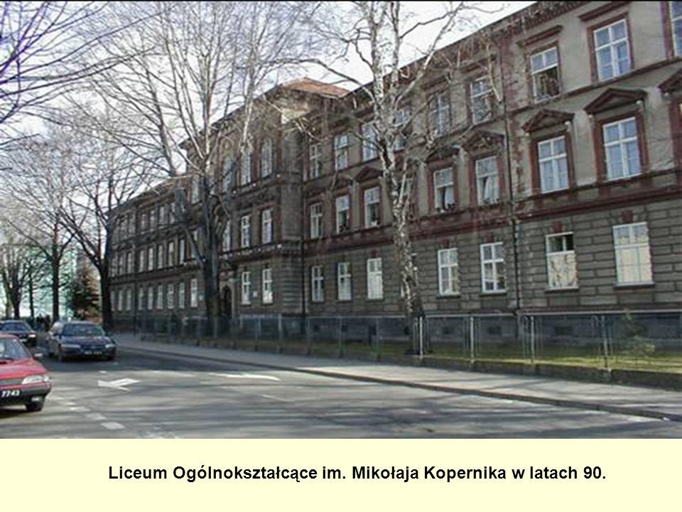 Liceum Ogólnokształcące im. Mikołaja Kopernika w latach 90.