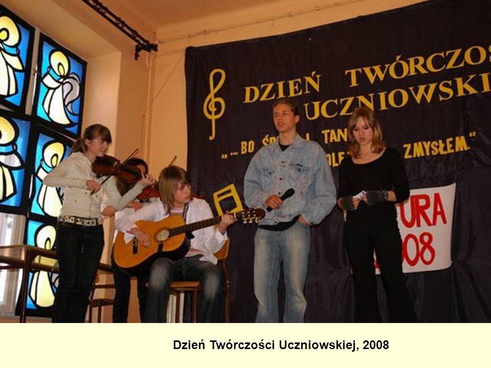 Dzień Twórczości Uczniowskiej, 2008