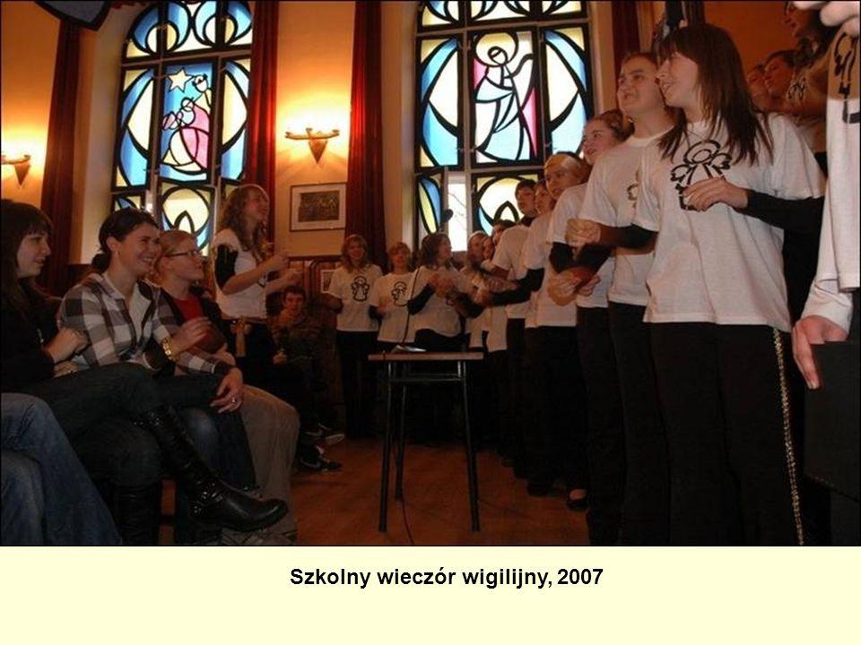 Szkolny wieczór wigilijny, 2007