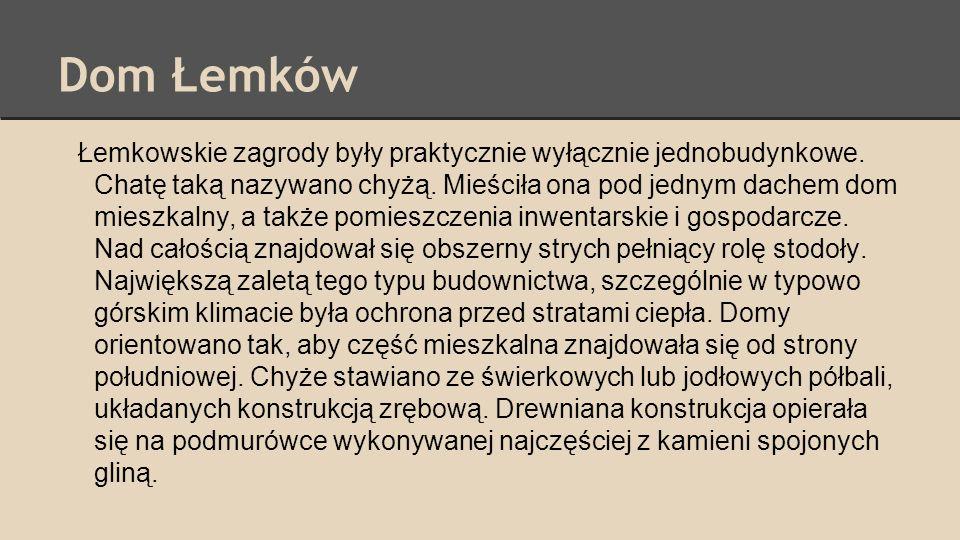 Dom Łemków