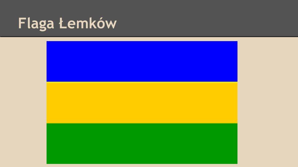 Flaga Łemków