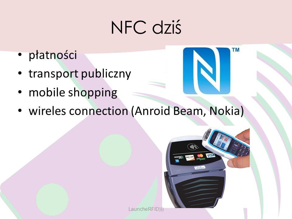 NFC dziś płatności transport publiczny mobile shopping