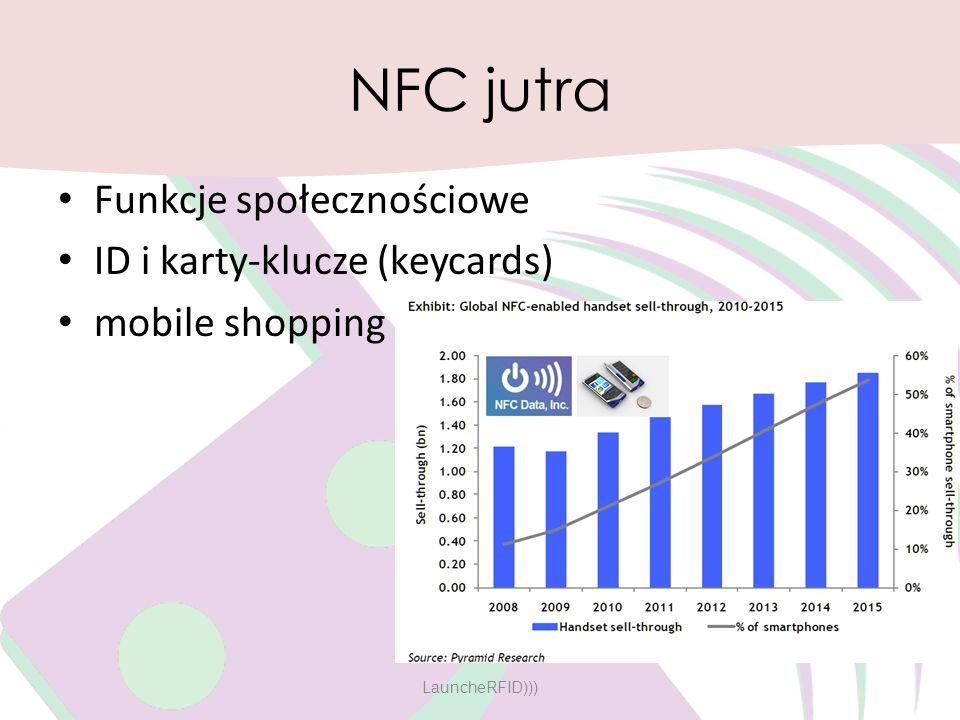 NFC jutra Funkcje społecznościowe ID i karty-klucze (keycards)