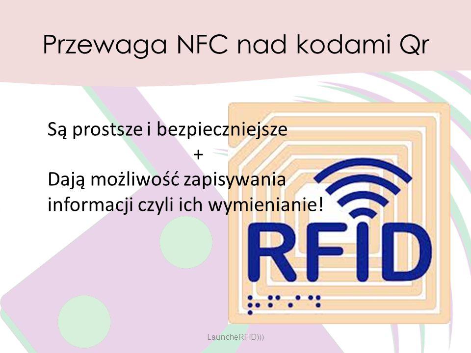 Przewaga NFC nad kodami Qr