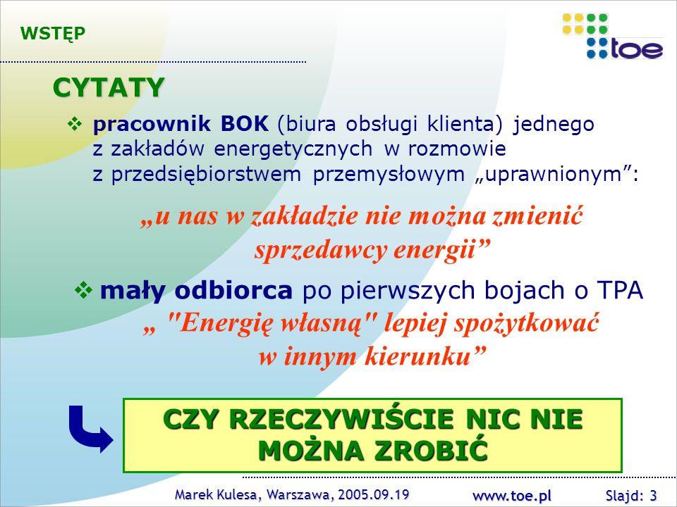 """""""u nas w zakładzie nie można zmienić sprzedawcy energii"""