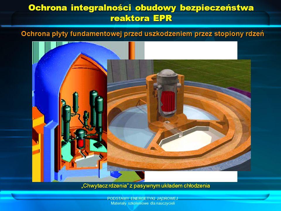 Ochrona integralności obudowy bezpieczeństwa reaktora EPR