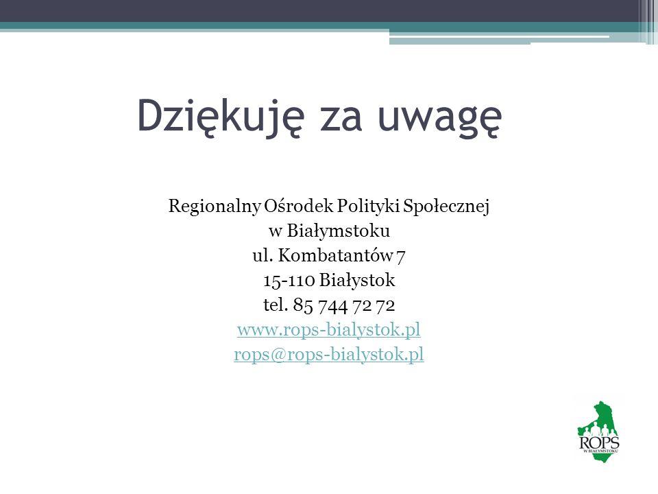 Regionalny Ośrodek Polityki Społecznej