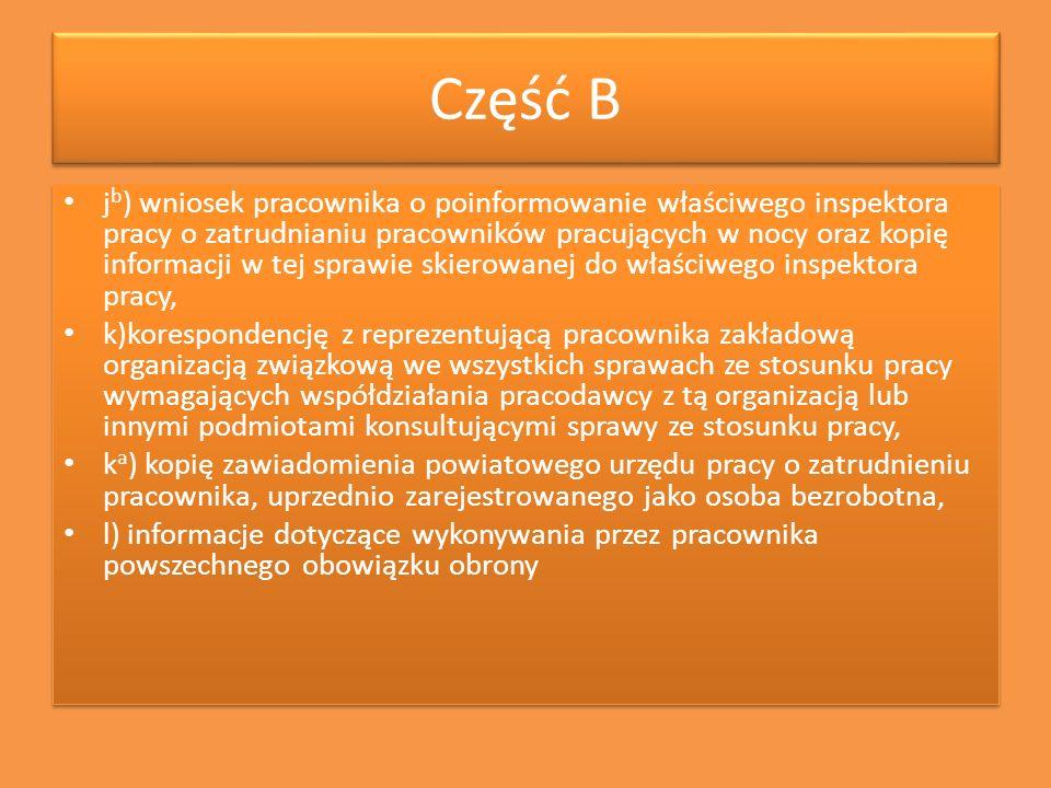 Część B