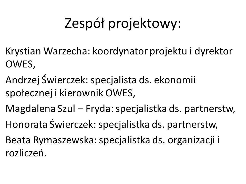 Zespół projektowy: