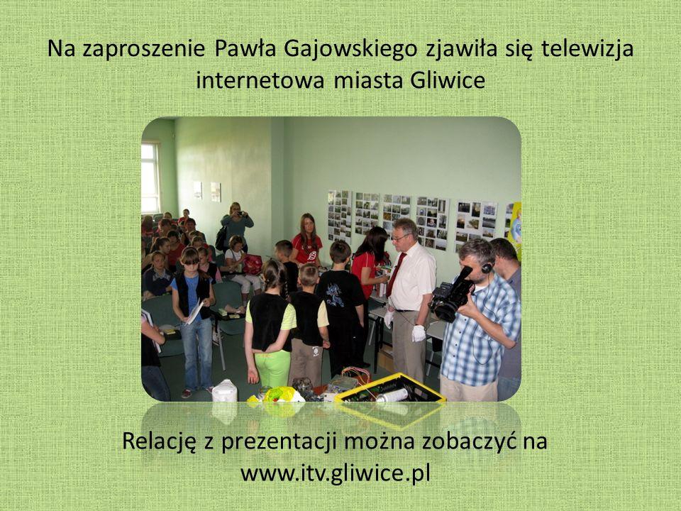 Relację z prezentacji można zobaczyć na www.itv.gliwice.pl
