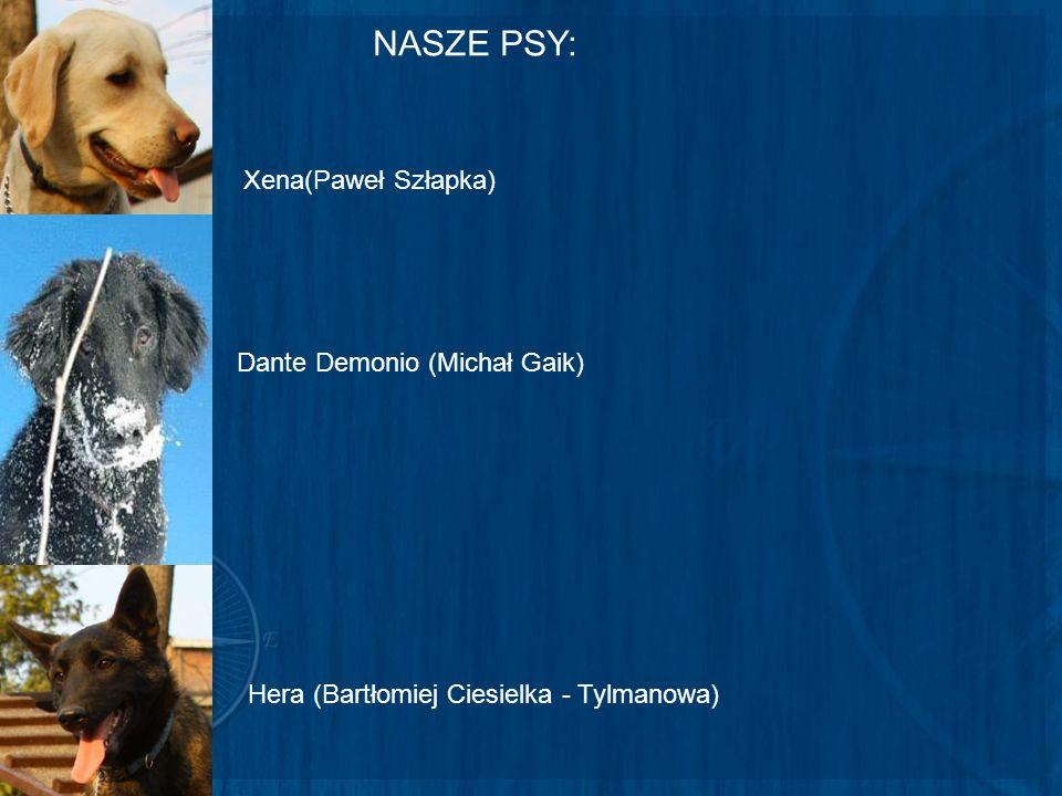 NASZE PSY: Xena(Paweł Szłapka) Dante Demonio (Michał Gaik)