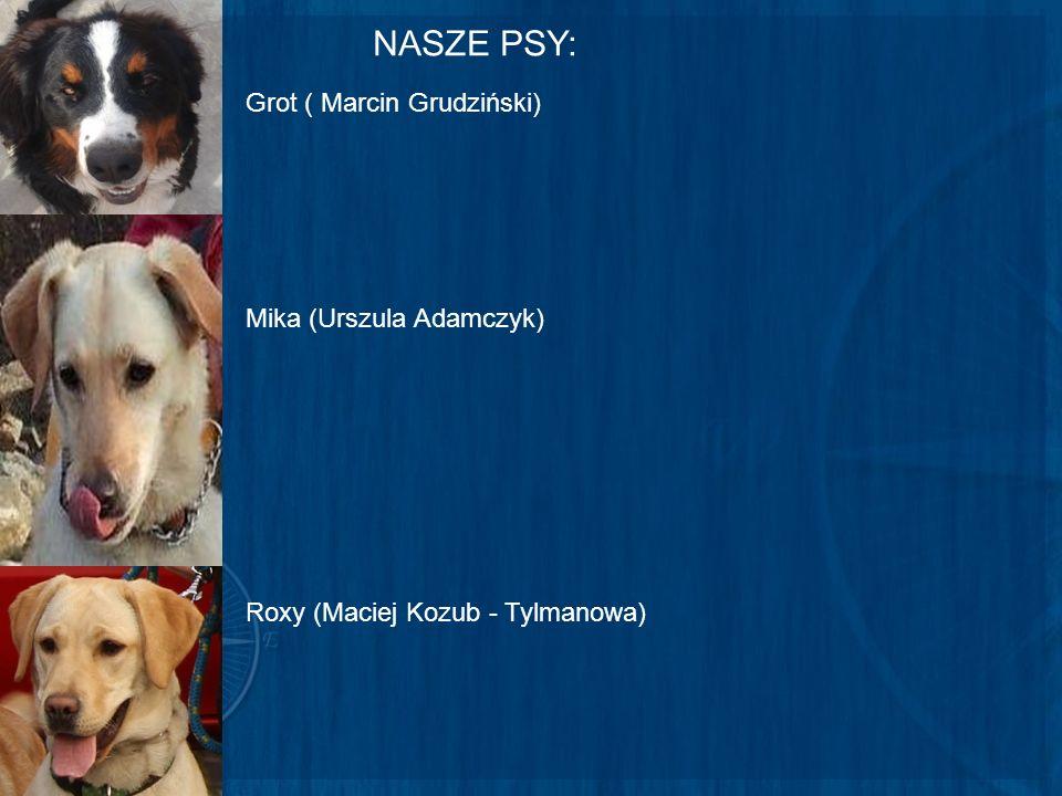 NASZE PSY: Grot ( Marcin Grudziński) Mika (Urszula Adamczyk)
