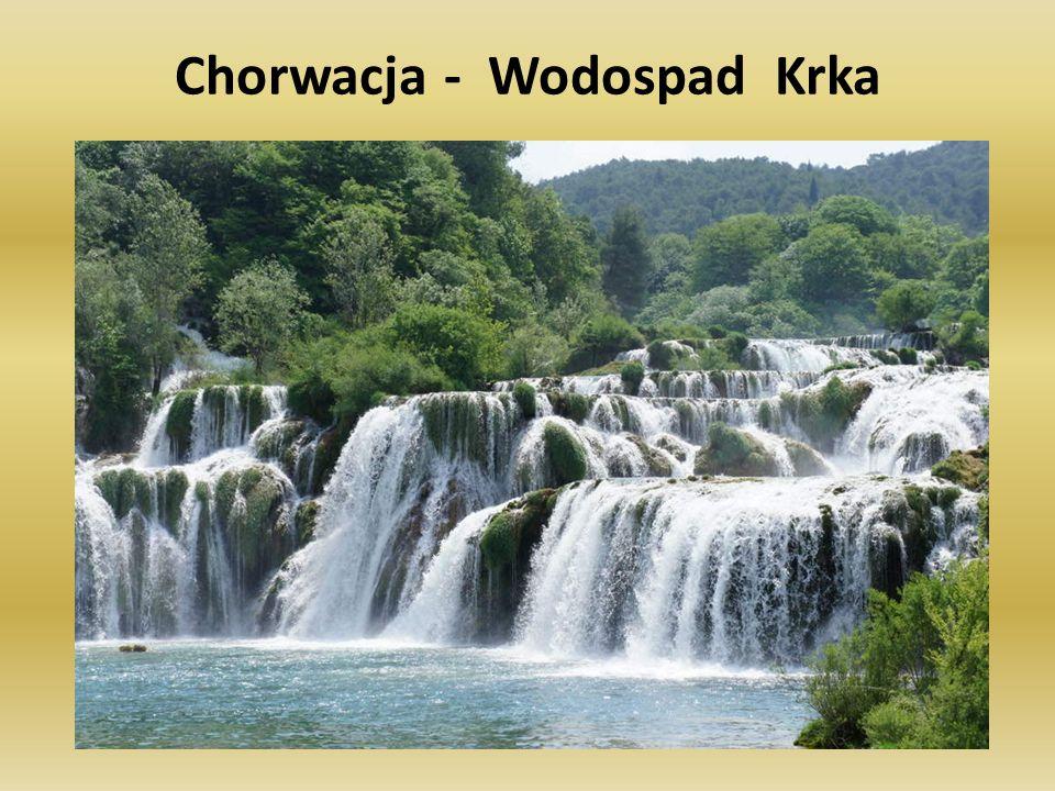 Chorwacja - Wodospad Krka