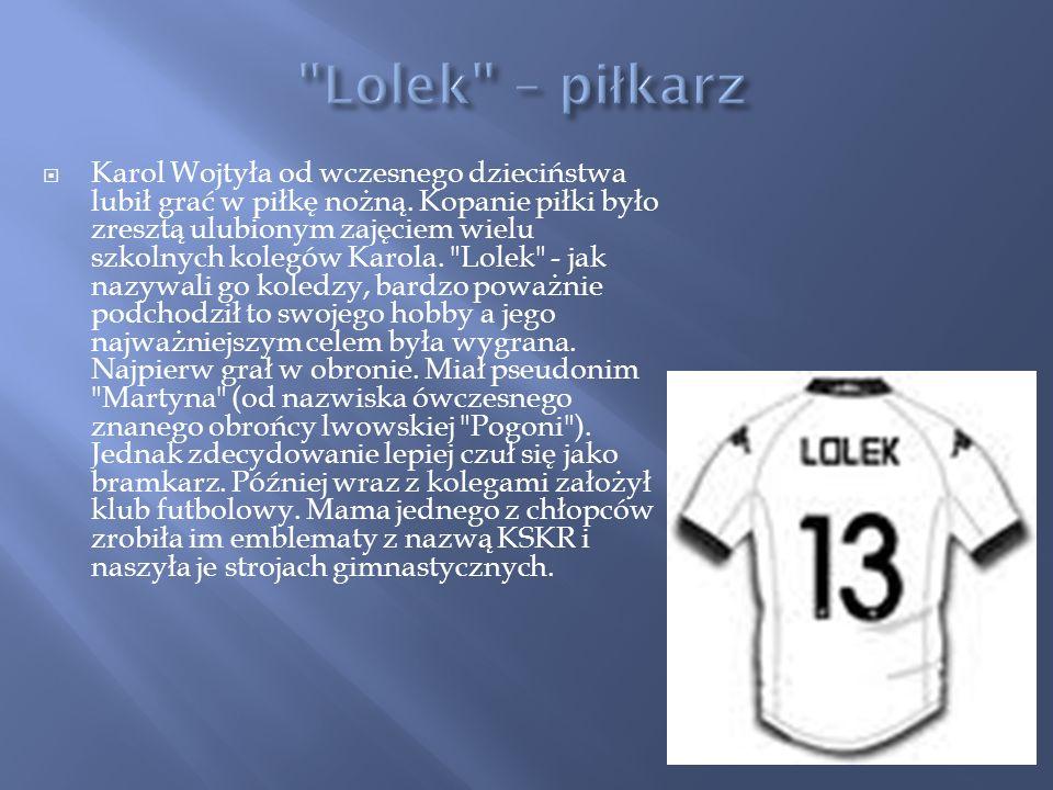 Lolek – piłkarz